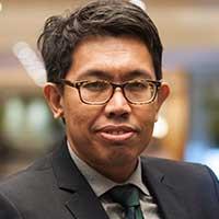 IDEAS external relations manager Azrul Mohd Khalib