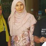 PKR vice-president Nurul Izzah Anwar accompanied Bill Kayong's family as they handed a memorandum to AG Apandi Ali.