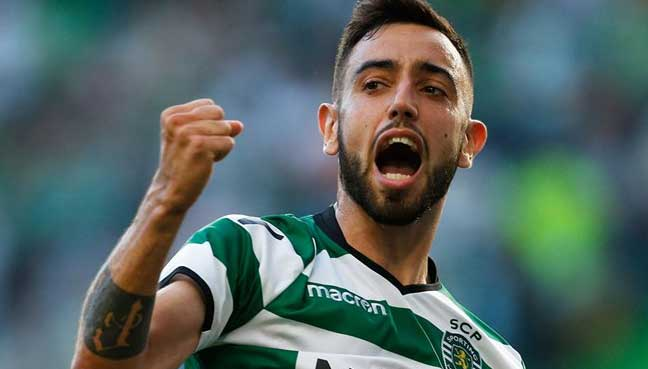 Lisbon Bruno Fernandes Of Sporting Lisbon Has Been Called Up To The Portugal Squad For Upcoming World Cup Qualifiers Against The Faroe Islands And Hungary