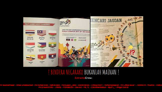 Hackers deface Malaysian websites after SEA Games flag blunder