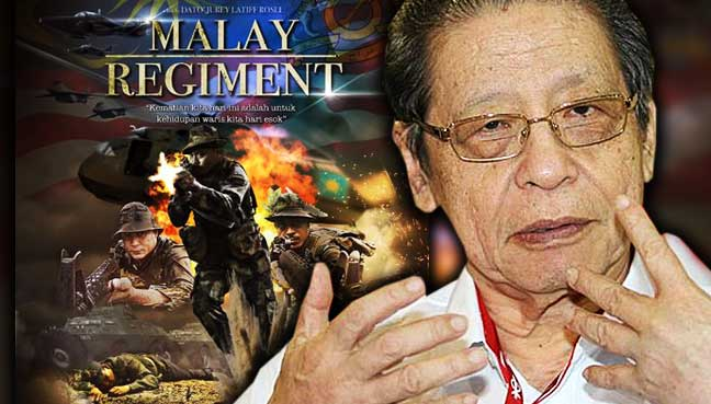 lim-kit-siang-malay-regiment