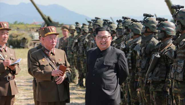 North Korea uses multiple-rocket launcher to test missiles