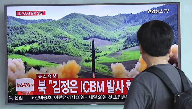 North Korea's ICBM fires up fears in South for US alliance ...