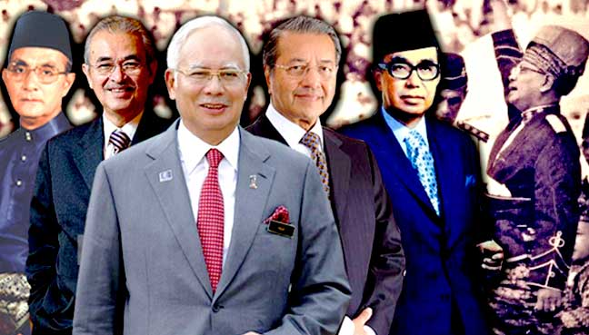 Image result for malaysian PMs
