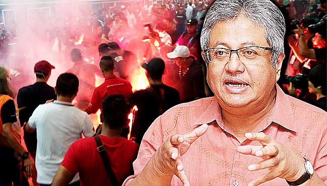 Is this a prelude to a suspension of the 14GE asks Zaid Ibrahim