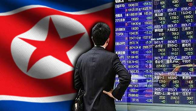 Asian-markets-sank-and-safe-haven-north-korea