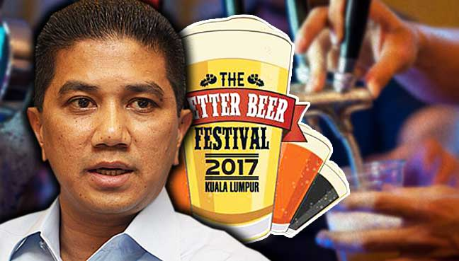Azmin-Ali-beer-fest-kl-malaysia