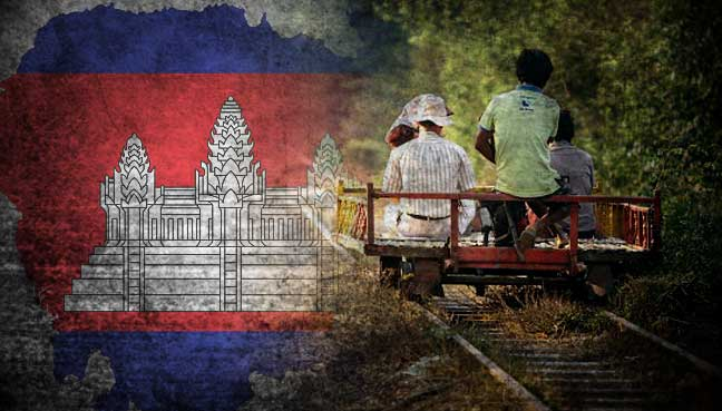End of the line for Cambodia's homegrown 'Bamboo Train'
