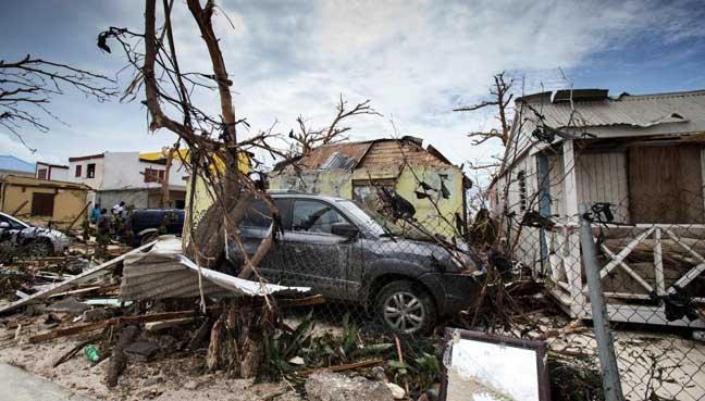 Hurricane Irma downgraded as it tears into Cuba's northern coast