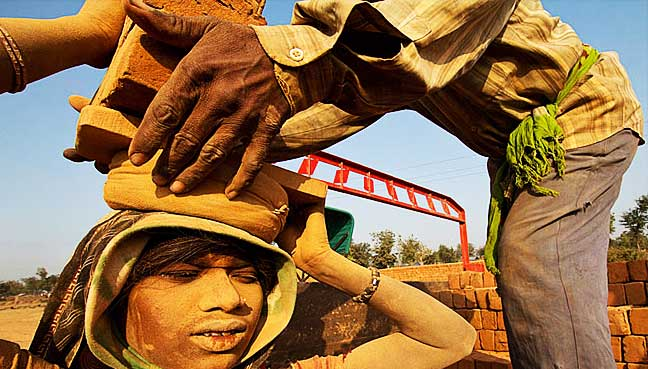 Indian-brick-workers