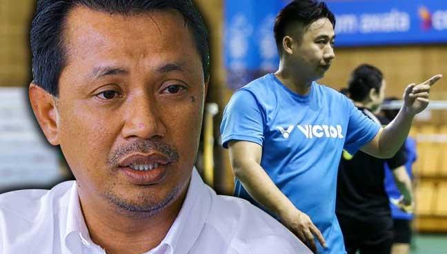 Jeremy Gan pula letak jawatan jurulatih beregu lelaki badminton