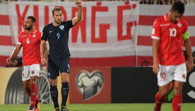 Kane's double saves England blushes
