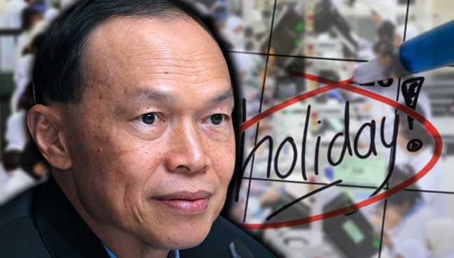 Ad hoc holidays burdensome to industries, says company