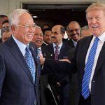 Najib-Trump