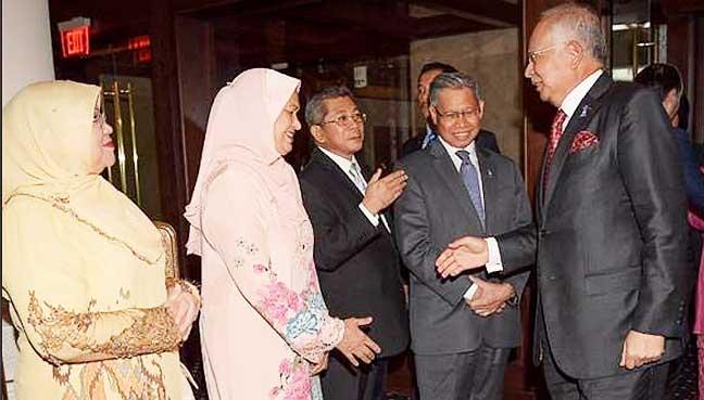 Najib dan Rosmah bertemu rakyat Malaysia di AS