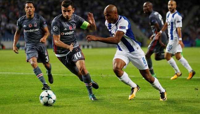 Besiktas defeats Porto 3-1 in Champions League opener