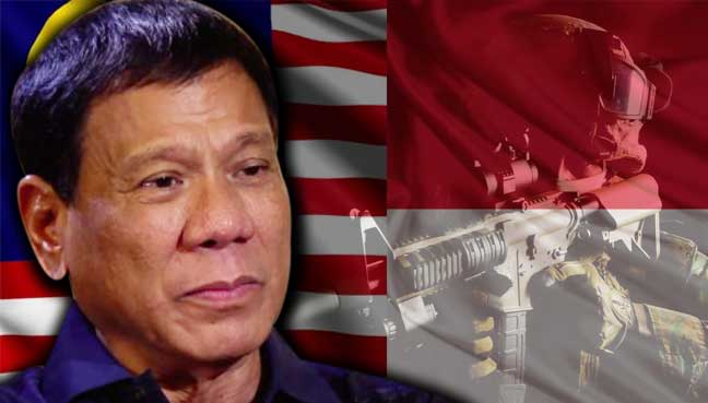 Philippines is considering forming an anti-terrorism force with Malaysia and Indonesia