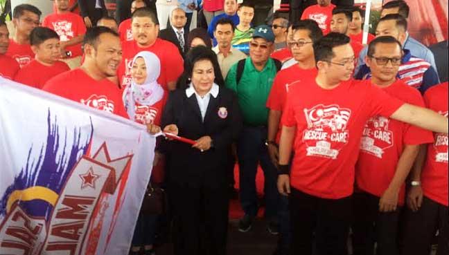 Rosmah sempurnakan misi bantuan banjir ke utara