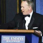 Sean-Spicer,-mocked-press-secretary,-wins-laughs-at-Emmys