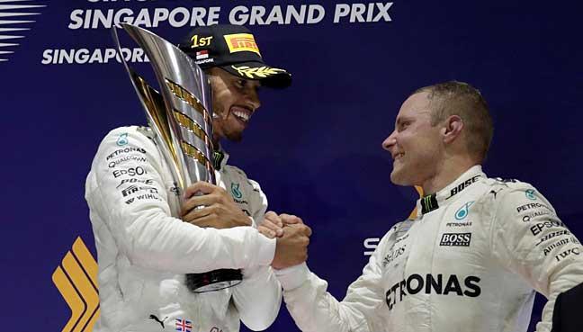Senna helped me to shock win, says Hamilton