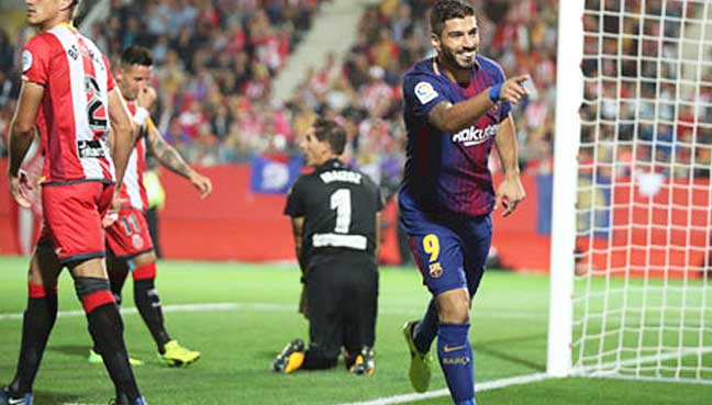 Two-own-goals-help-Barca-to-secure-Catalan-derby-win