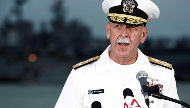 Pacific fleet chief to retire after being passed over for promotion