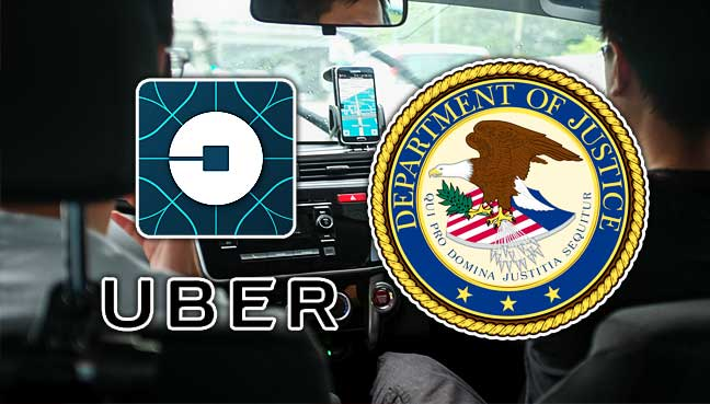 Uber reviews over bribery allegations in US