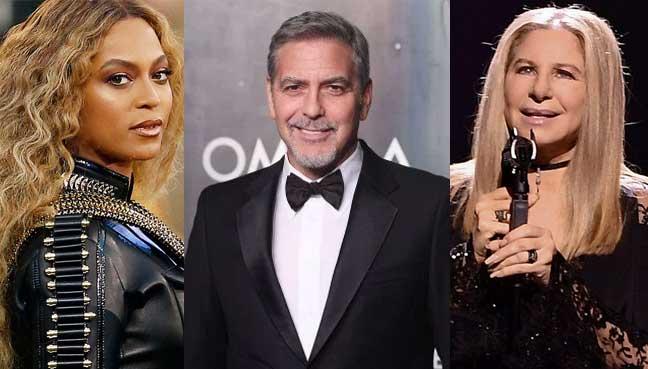 Beyonce, Clooney, Streisand to headline Harvey telethon