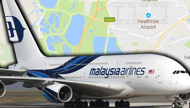 Malaysia Airlines flight turns back to London