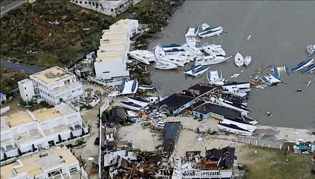 Hurricane Irma leaves 11 dead as it tears through Caribbean