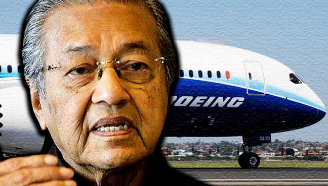 Boeing deal could see MAS facing further failure, says Dr M