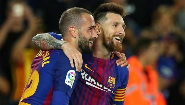 Magical Messi hits four as Barcelona thrash Eibar