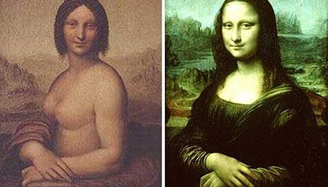 Leonardo da Vinci may have drawn nude Mona Lisa