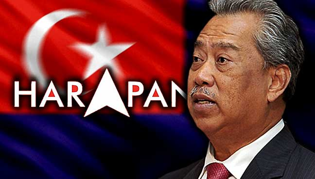 GE14: Muhyiddin hails Johor as 'frontline state' to topple BN