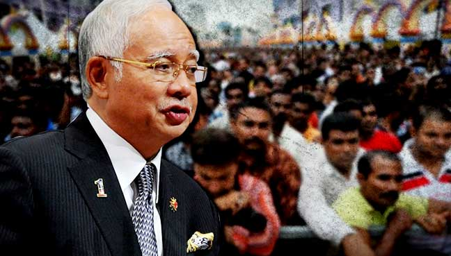 Najib: Saya bukan dari Kerala tapi sudah banyak bantu kaum India