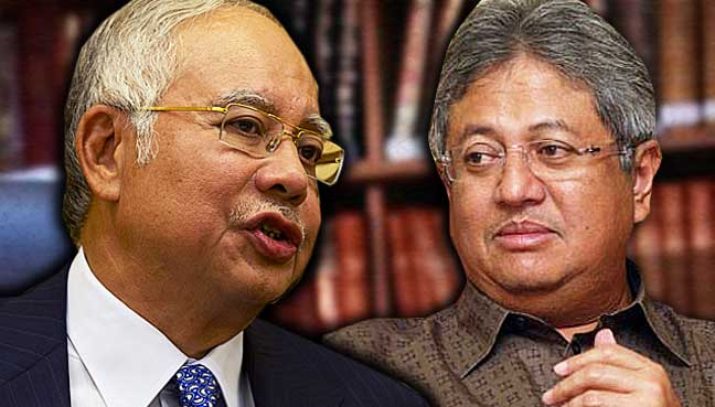 Najib: Zaid has no legal standing to obtain details of my bank accounts