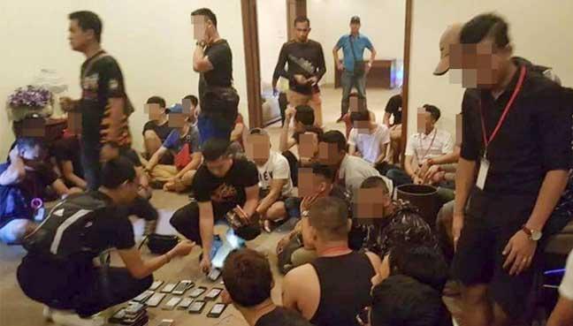 74 ditahan berpesta dadah di banglo