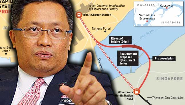 SMRT and Prasarana to form JV for cross-border link
