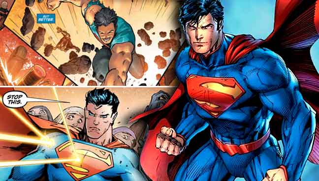 Superman Shields A Group Of Undocumented Immigrants From A White Supremacist