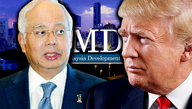 Najib, Trump meet to discuss terror fight