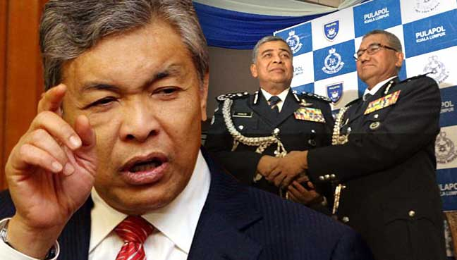 Terrorism a priority for M'sia's new Inspector