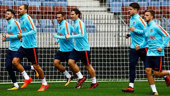 Dutch-keep-slender-World-Cup