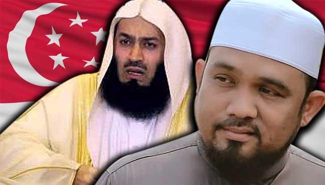 Hasil carian imej untuk Ismail Menk jawab larangan masuk Singapura