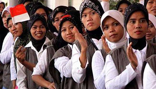 Indonesia-maid