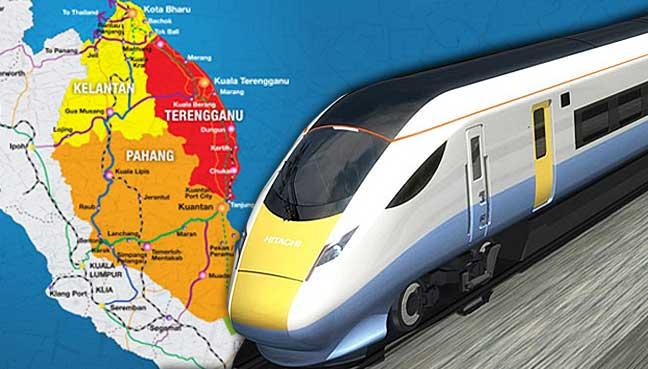 "Laluan-Kereta-Api-Pantai-Timur-ecrl-china""PETALING JAYA:自然资源与环境部已经承认,大片的森林储备在三将为东海岸铁路线(ECRL)的发展牺牲国家。</p> <p>这是今天在Dewan Rakyat的书面答复中提到的。</p> <p>印度尼西亚国土资源部(BN-Bagan Serai)在回答努尔阿扎米·加扎利(BN-Bagan Serai)的问题时说,这个地区跨越丁加奴州,彭亨州和雪兰莪州,面积约357公顷。</p> <p>据说是大象,老鼠(kancil),tap,太阳熊,野猪和豹子等各种野生动物的栖息地</p> <p>该部门表示:""ECRL项目对受影响地区的影响包括栖息地丧失,栖息地破碎化,人畜冲突,偷猎,动物迁徙和道路交通障碍等</p> <p>它补充说ECRL的环境影响评估(EIA)报告将包括野生动物缓解计划</p> <p>该计划建议ECRL开发项目提供野生动物过境点,八条隧道(全长39.3公里),至少四条高架桥或涵洞,围墙约600公里,防止野生动物侵入野外</p> <p>该部告诉Dewan Rakyat说:""缓解计划必须包括拯救被困野生动物,人畜冲突管理,野生动物迁徙,执法计划,公众意识计划和栖息地丰富计划的计划。</p> <p>中国国有的中国交通建设股份有限公司(CCCC)将建设550亿令吉的ECRL项目,最终将连接位于雪兰莪的巴生港和半岛东海岸</p> <p>总理纳吉布·拉扎克(Najib Razak)在8月9日举行的600公里长的ECRL开工仪式上表示,这个项目是马来西亚的""游戏规则改变者""和""心态转换者"",因为它将大大缩短西海岸和东海岸。</p> <p>他表示,即使在非高峰时期,全行程预计不到四个小时,而目前的八至十二小时陆路行程</p> <p> 6月,马来西亚自然协会(MNS)对ECRL的环境影响表示关注</p> <p> MNS表示深切关注该项目在施工期可能造成的环境影响。</p> <blockquote data-secret="