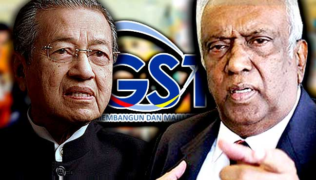 Mahathir is right in proposing a review and improvement of our tax policies, says Ramon.