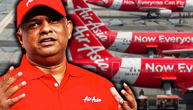 Going full-service not in AirAsia's DNA, says Fernandes