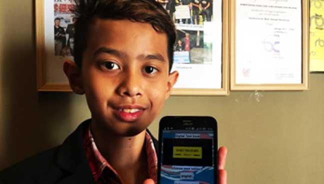 13-year-old Sarawak student develops digital textbook