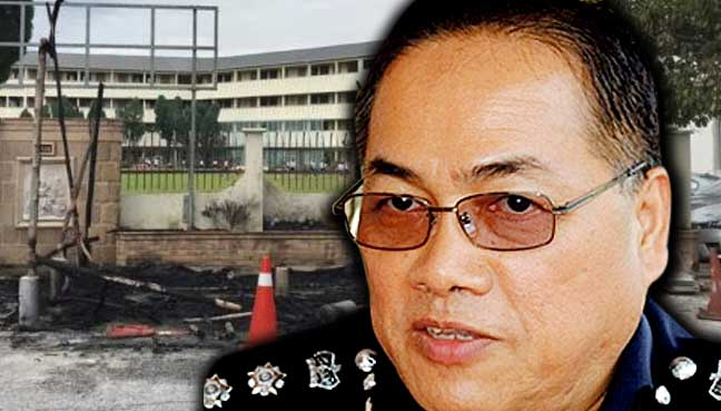 Cops yet to determine cause of fire at church gazebo in Ipoh