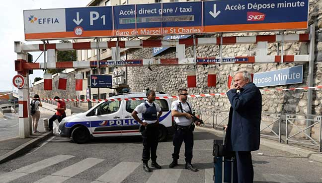 Two dead in Marseille train station knife attack